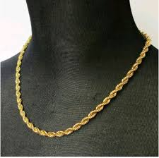 mens jewelry necklace chain images Rope gold chains for men google search jewlery pinterest jpg