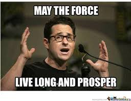 Meme Live - may the force live long and prosper by mord3434 meme center