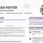 yahoo resume template make your content look as good as this cv