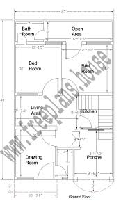 Sq Feet To Meters by 25 40 Feet 92 Square Meter House Plan
