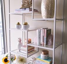 how to style a bookshelf visions of vogue