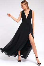 black maxi dress black gown maxi dress sleeveless maxi dress 84 00