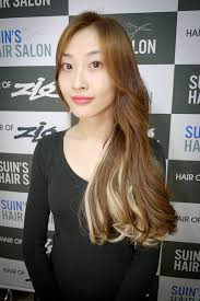 popular hair colour for korean hair extension in korean hair salon suinstyle