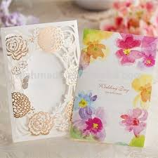 butterfly wedding invitations laser cut cover wedding invitation card with pop up butterfly