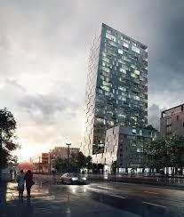 porsche headquarters stuttgart grüntuch ernst architekten u0027s layered scheme wins porsche
