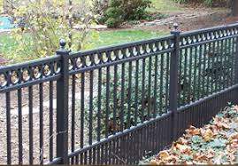 aluminum fencing cost cost of aluminum fence frederick fence
