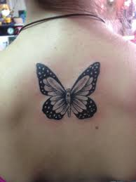 13 best grey and black butterfly tattoos images on