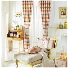 Burnt Orange Curtains Orange And Grey Curtains Scalisi Architects