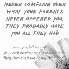 50 islamic quotes on parents with images