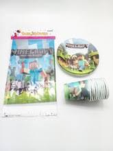 minecraft birthday supplies buy minecraft birthday and get free shipping on aliexpress