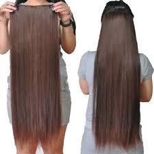 one clip in remy 100 human hair extensions hair pieces