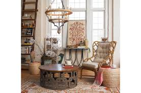soho boho living room shades of light
