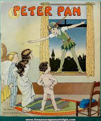 1934 peter pan character childrens story book tpnc