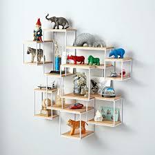 creative shelving baby storage shelves bedroom modern shelving ideas kids wall