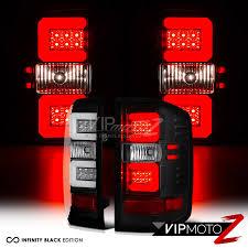 fiber optic tail lights fiber optic 2014 2018 chevy silverado 1500 2500hd 3500hd black led