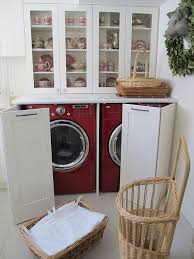 kitchen laundry ideas designs ideas white kitchen hutch with laundry appliances