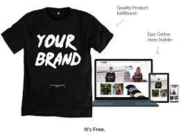sell t shirts online teemill