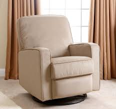 Swivel Glider Recliner Chair by Abbyson Living Bella Nursery Swivel Glider Recliner Chair Fabric