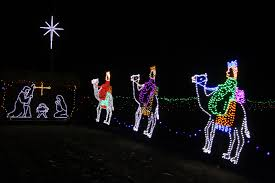 christmas lights jesus three kings free stock photo public