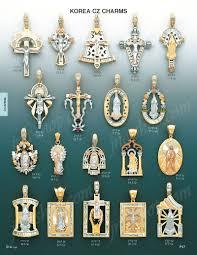 religious charms 14k gold lazarus cz charm pendant p17 13 1 095 00