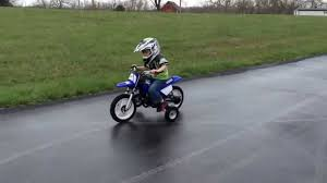 wheels motocross bikes 4yrs old ryder farley riding his yamaha pw50 dirt bike with training