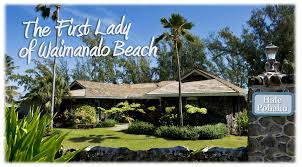 Waimanalo Beach Cottage by Hale Pohaku House Of Stone The First Lady Of Waimanalo Beach