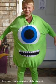 Monsters Inc Baby Halloween Costumes by Diy Halloween Costumes Events To Celebrate