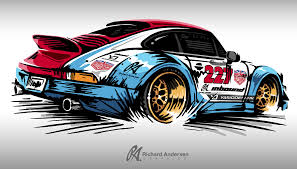 porsche magnus magnus walker inspired porsche this was awesome to push this new