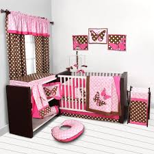 Pink And Gray Nursery Bedding Sets by Pink And Taupe Damask Crib Bedding Girl Carousel Baby Loversiq