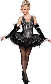 Ballerina Costumes Halloween Halloween Incharacter Deluxe Black Seductive Swan