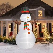large snowman countdown to clock sign outdoor yard
