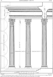 vitruvio de architectura orden corintio edición de vignola