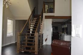 custom stairs u0026 railings calabogie rustic woodworks