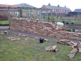 garden walls stone garden walls u2013 hepscott walls and all dry stone walling