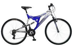 Mongoose Comfort Bikes Mongoose Maxim 26 Men U0027s Full Suspension Mountain Bike 149 00
