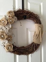 35 best craft rosette wreath images on wreath ideas