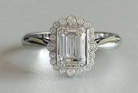 vintage emerald cut engagement rings emerald cut engagement rings vintage top fashion stylists