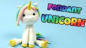 unicorn cake topper how to make fondant unicorn cake topper