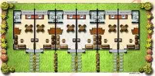 row house floor plan row house site plan house design plans