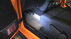 weathertech jeep wrangler review of a weathertech front floor liner on a 2012 jeep wrangler