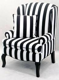 Blue And White Striped Slipcovers Striped Armchairs Classic Slipcovers Classic Stripe Chair