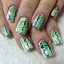 21 best super bowl nail design images on pinterest football