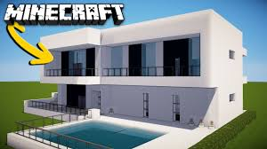 Modern House Minecraft Minecraft How To Make A Modern House For Survival Home