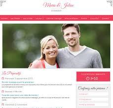 le site du mariage créez le site dédié à votre mariage pour partager avec vos invités