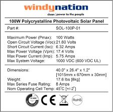 windynation 400 watt 12v 24v polycrystalline solar panel complete