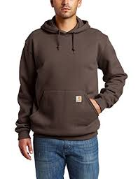 amazon com carhartt men u0027s midweight original fit hooded pullover