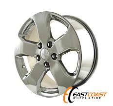jeep grand cherokee factory wheels grand cherokee 18x8 2010 2011 2012 factory chrome oem rim wheel 9105