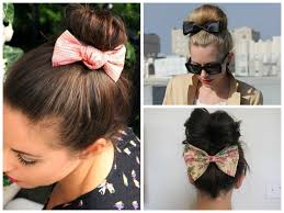 hair bow with hair the cutest ways to wear a bow hair world magazine