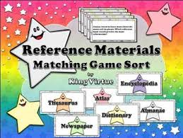 reference materials encyclopedia dictionary thesaurus atlas