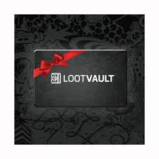 gift card gift card loot vault by loot crate